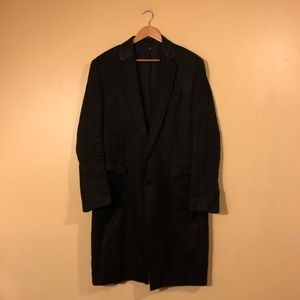 BLK DNM trench coat size Large